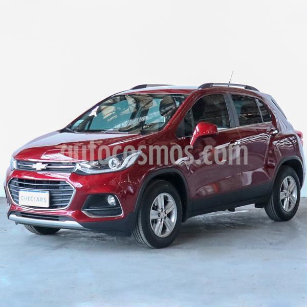 Chevrolet Tracker LTZ 4x2 usado (2018) color Rojo Victoria precio $1.359.000
