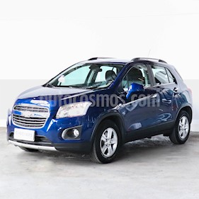 Chevrolet Tracker LTZ 4x2 usado (2017) color Azul precio $907.000