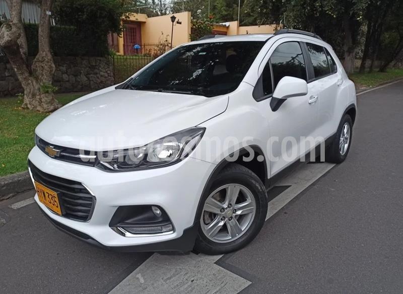 Chevrolet Tracker 1.8 LS usado (2019) color Blanco precio $53.500.000