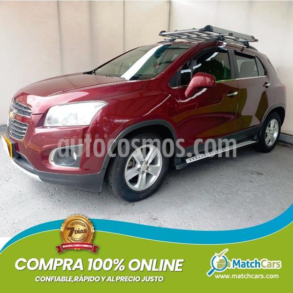 Chevrolet Tracker 1.8 LT Aut  usado (2017) color Rojo precio $47.990.000