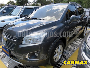 Chevrolet Tracker 1.8 LT Aut  usado (2015) color Gris precio $45.900.000