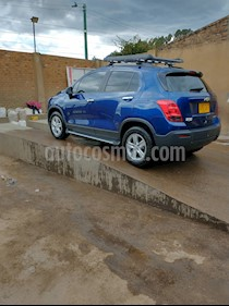 Chevrolet Tracker 1.8 LS usado (2015) color Azul precio $42.000