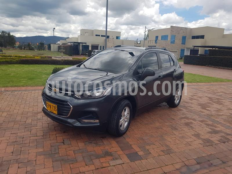 Chevrolet Tracker 1.8 LS usado (2018) color Gris Mercurio precio $45.500.000