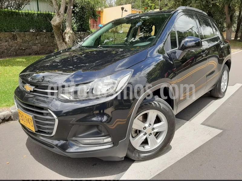Chevrolet Tracker 1.8 LS usado (2018) color Negro precio $50.900.000