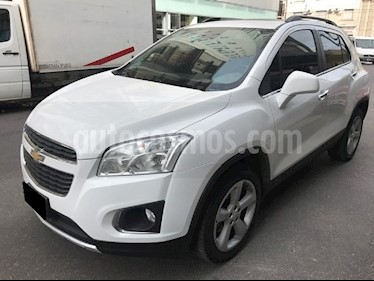 Foto venta Auto Usado Chevrolet Tracker LTZ + 4x4 Aut (2015) color Blanco Summit