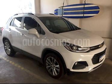 Foto venta Auto usado Chevrolet Tracker LTZ + 4x4 Aut (2018) color Blanco
