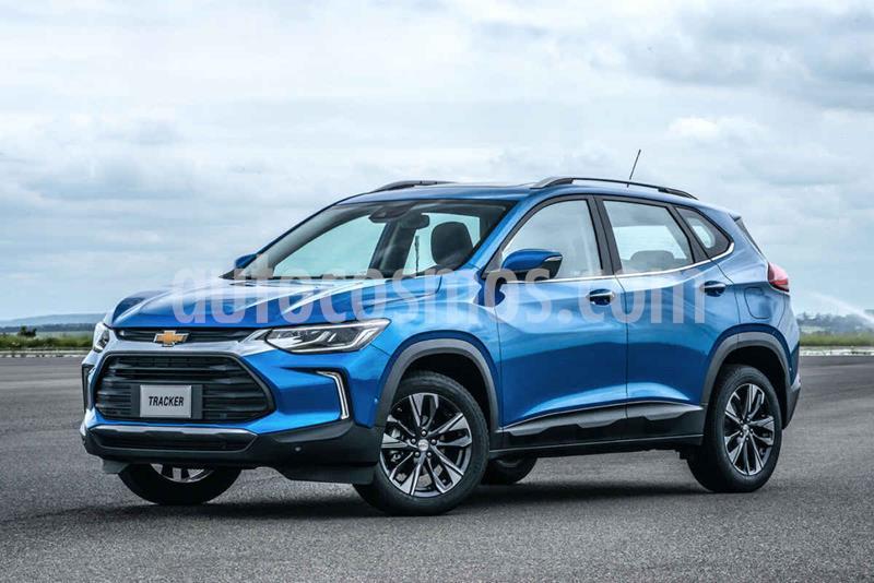 Chevrolet Tracker LS usado (2021) color Azul precio $500,000