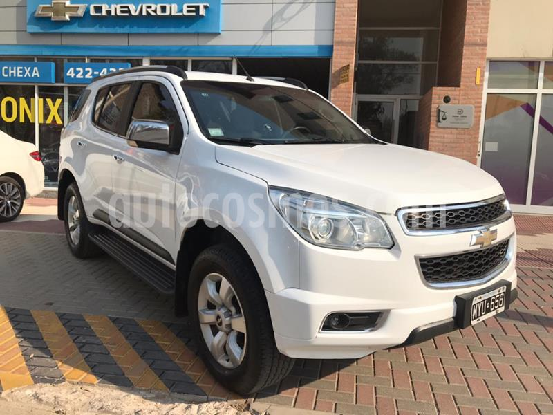 Chevrolet Trailblazer 2.8L 4x4 LTZ AT usado (2013) color Blanco precio $2.350.000