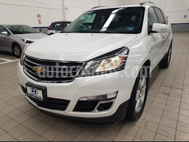 Foto venta Auto usado Chevrolet Traverse 5p LT V6/3.6 Aut 7/Pas (2016) color Blanco precio $375,000