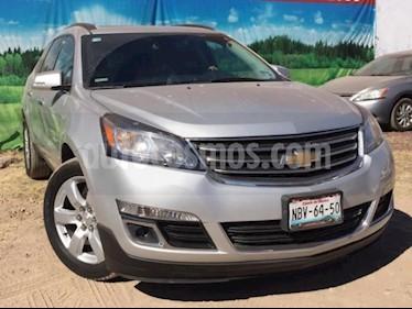 Foto venta Auto usado Chevrolet Traverse 5p LT V6/3.6 Aut 7/Pas (2017) color Plata precio $410,000