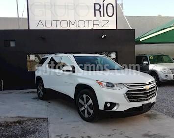 Foto venta Auto usado Chevrolet Traverse LT 7 Pasajeros (2018) color Blanco precio $640,000