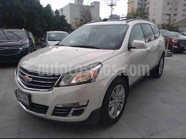 Foto venta Auto usado Chevrolet Traverse LT 7 Pasajeros (2014) color Blanco precio $295,000