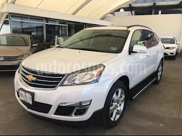 Foto venta Auto usado Chevrolet Traverse LT 7 Pasajeros (2017) color Blanco precio $419,000