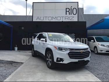 Chevrolet Traverse LT 7 Pasajeros usado (2018) color Blanco precio $614,000