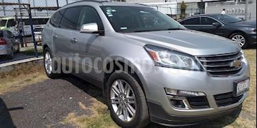 Foto venta Auto usado Chevrolet Traverse LT 7 Pasajeros (2014) color Plata Brillante precio $299,000