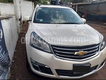 Foto venta Auto usado Chevrolet Traverse LT 7 Pasajeros (2015) color Blanco precio $330,000