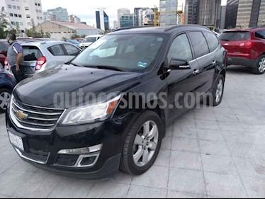 Foto venta Auto usado Chevrolet Traverse LT 7 Pasajeros (2017) color Negro precio $389,000