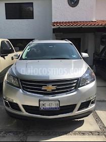 Chevrolet Traverse LT Piel usado (2013) color Plata precio $290,000