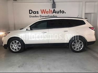Foto venta Auto usado Chevrolet Traverse LT Piel (2014) color Blanco precio $277,990