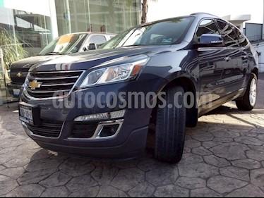 Foto venta Auto usado Chevrolet Traverse LT Piel (2014) color Azul precio $300,000