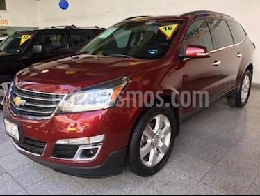 Foto venta Auto usado Chevrolet Traverse LT Piel (2016) color Rojo precio $415,000