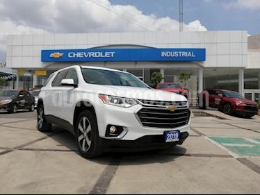 Foto venta Auto usado Chevrolet Traverse LT Piel (2019) color Blanco precio $720,000