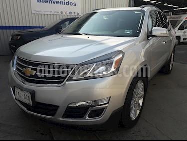 Foto venta Auto usado Chevrolet Traverse LT Piel (2015) color Plata precio $329,000