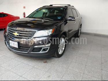 Foto venta Auto usado Chevrolet Traverse LT Piel (2015) color Gris precio $359,000