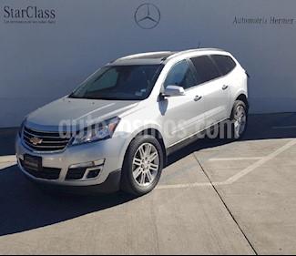 Foto venta Auto usado Chevrolet Traverse LT Piel (2015) color Plata precio $334,900