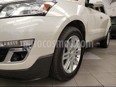 Foto venta Auto usado Chevrolet Traverse LT Piel (2014) color Blanco Diamante precio $335,000
