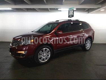 Foto venta Auto usado Chevrolet Traverse LT Piel (2015) color Rojo Tinto precio $365,000