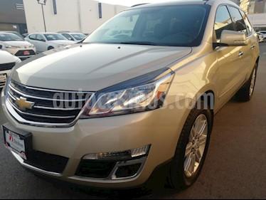 Foto venta Auto usado Chevrolet Traverse LT Piel (2015) color Dorado precio $329,000