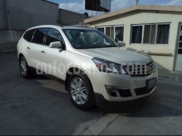 Foto venta Auto usado Chevrolet Traverse LT Plus (2015) color Blanco precio $295,000