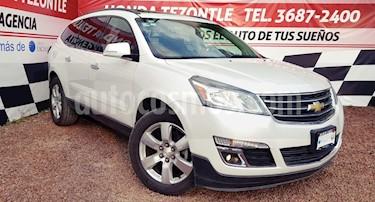 Foto venta Auto usado Chevrolet Traverse LT (2016) color Blanco precio $390,000