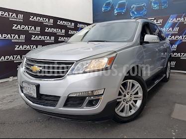 Foto venta Auto usado Chevrolet Traverse LT (2014) color Plata precio $279,900