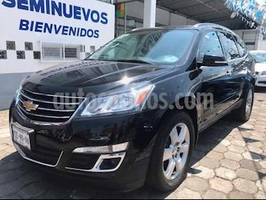Foto venta Auto usado Chevrolet Traverse LT (2017) color Negro Grafito precio $459,500
