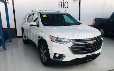 Foto venta Auto usado Chevrolet Traverse LT (2018) color Blanco precio $635,000