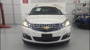 Foto venta Auto usado Chevrolet Traverse LT (2016) color Blanco precio $389,000