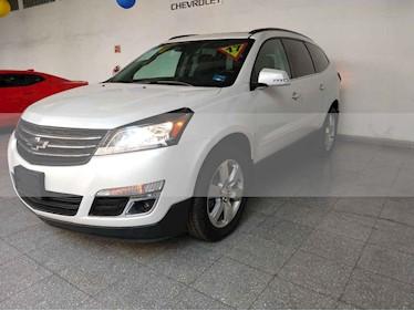 Foto venta Auto usado Chevrolet Traverse LT (2017) color Blanco precio $499,000