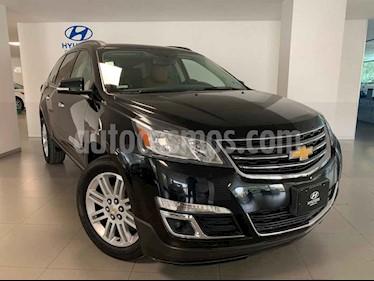 Chevrolet Traverse 5p LT V6/3.6 Aut 7/Pas usado (2015) color Negro precio $350,000
