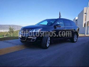Chevrolet Traverse LT Piel usado (2014) color Negro Grafito precio $295,000