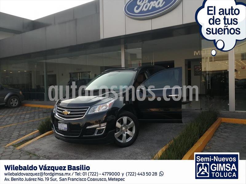 Chevrolet Traverse LT Piel usado (2017) color Negro precio $345,000