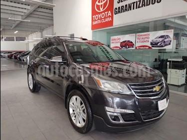Chevrolet Traverse 5P LT TA A/AC. AUT. PIEL QC DVD GPS ABS. RA-20 usado (2015) color Gris precio $285,000