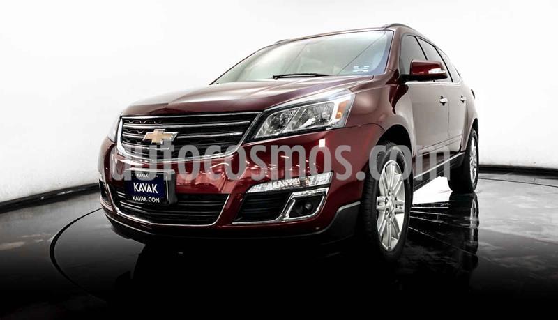 Chevrolet Traverse LT 7 Pasajeros usado (2015) color Rojo precio $319,999