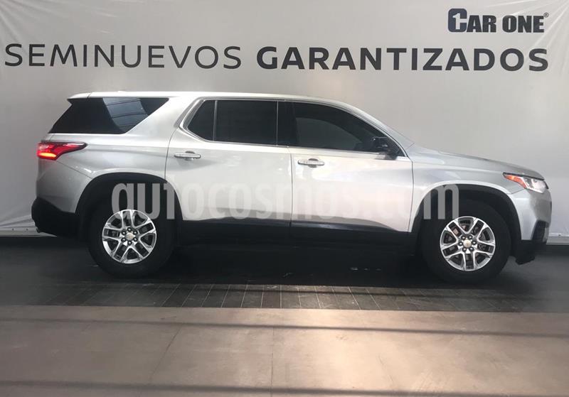 Chevrolet Traverse LT 7 Pasajeros usado (2018) color Plata Brillante precio $539,900
