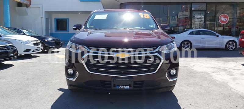 Chevrolet Traverse LT 7 Pasajeros usado (2018) color Violeta precio $600,000