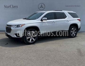 Chevrolet Traverse 5p LT V6/3.6 Aut 7/Pas usado (2018) color Blanco precio $559,900