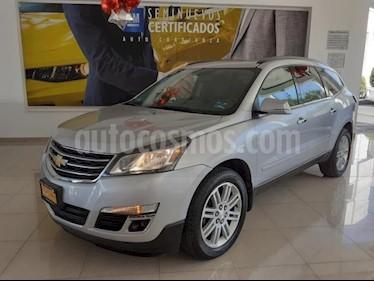 Chevrolet Traverse 5p LT V6/3.6 Aut 7/Pas usado (2015) color Plata precio $365,900
