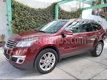 Chevrolet Traverse LT 7 Pasajeros usado (2015) color Rojo precio $320,000