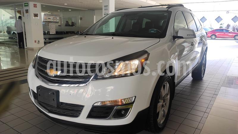 Chevrolet Traverse LT 7 Pasajeros usado (2016) color Blanco Diamante precio $331,400